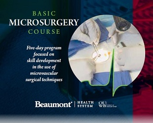 Basic Microsurgery Workshop 2018 Banner