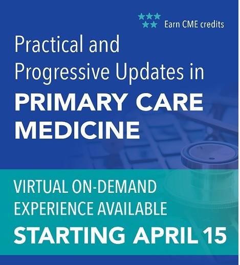 Practical and Progressive Updates in Primary Care Medicine 2021 Banner