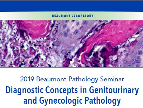 Diagnostic Concepts in Genitourinary and Gynecologic Pathology Banner
