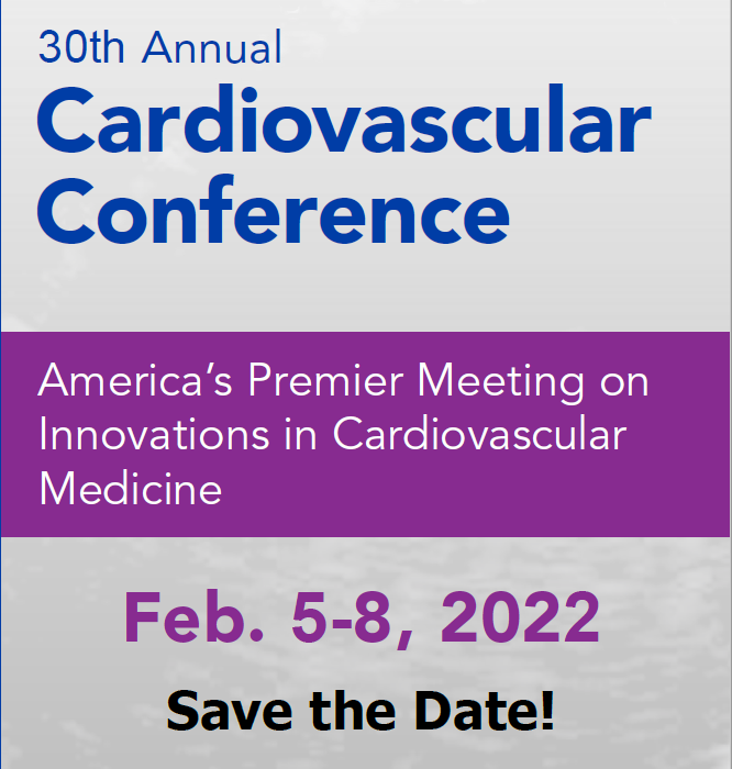 30th Annual Cardiovascular Conference Banner