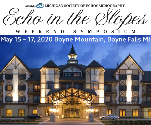 21st Annual Echo in the Slopes Banner