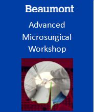 Advanced Microsurgery Workshop 2018 Banner