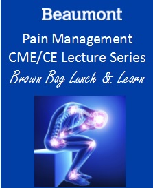 Pain Management Lecture Series: Acupuncture & Pain Management Banner
