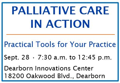4th Annual Palliative Care in Action: Practical Tools for Your Practice Banner